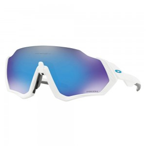OKULARY OAKLEY FLIGHT JACKET MATTE WHITE/ PRIZM SAPPHIRE
