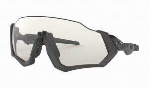 OKULARY OAKLEY FLIGHT JACKET STEEL BLACK/PHOTOCHROMIC