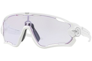 OAKLEY JAWBREAKER POLISHED WHITE / PRIZM LOW LIGHT
