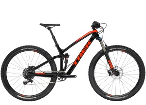 TREK FUEL EX 9.7 18.5 2018 BLACK/ORANGE - CUSTOM