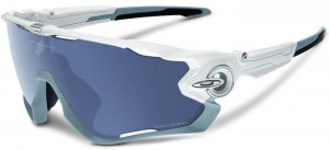 OKULARY OAKLEY JAWBREAKER POLISHED WHITE GREY POLARIZED