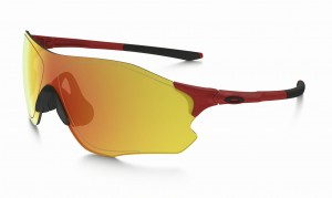 OKULARY OAKLEY EVZERO PATH INFRARED FIRE IRIDIUM