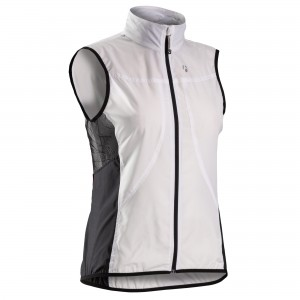 KAMIZELKA BONTRAGER RACE WINDSHELL S WOMAN WHITE