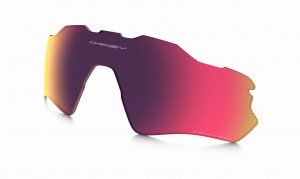 SZYBA OAKLEY RADAR EV PATH RED IRIDIUM POLARIZED